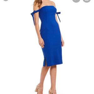 NEW NWT Gianni Bini Carter Dress Royal Blue 0